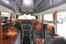 VIP coach interieur