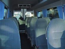 Minibus interieur